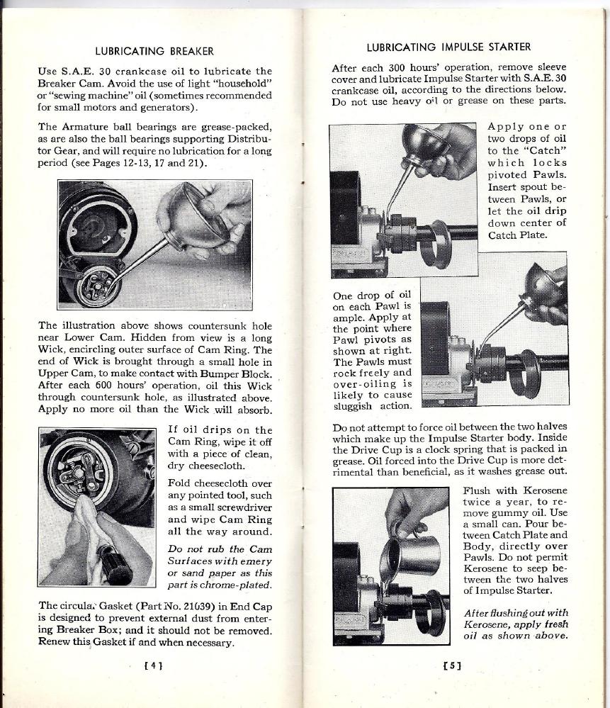 Eisemann GV-2Q Magneto Manual Caterpillar Diesel Starting Motor